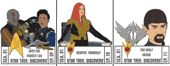 New Star Trek: Discovery Episode Pins