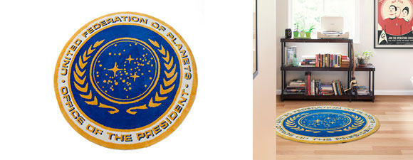 Star Trek Federation Presidential Rug