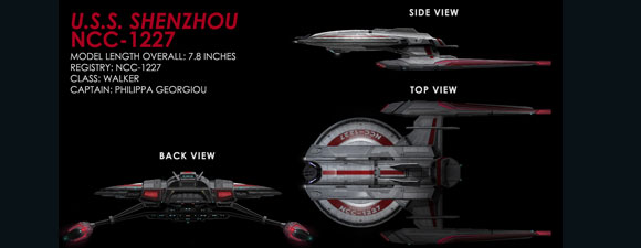 Eaglemoss Star Trek Discovery Ships