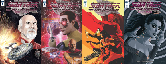 Trek Comic Nominated For Diamond Gem Award
