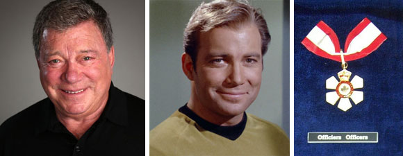 Shatner Appointed To The Order of Canada