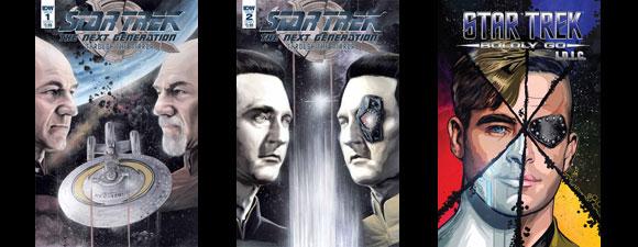 May 2018 IDW Publishing Trek Comics