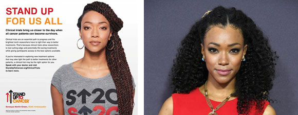 Sonequa Martin-Green: Stand Up To Cancer