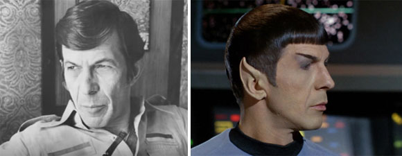 Nimoy And Those Pointed Ears