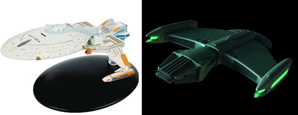 New Eaglemoss Starships