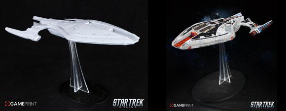 Custom 3D Printed Starships