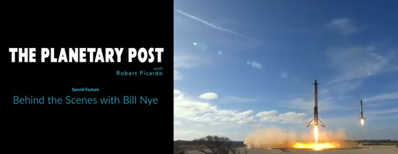The Planetary Post: Behind the Scenes with Bill Nye