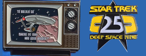 Two New FanSets Trek Pins
