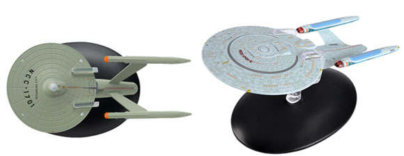 Eaglemoss USS Enterprise Ships