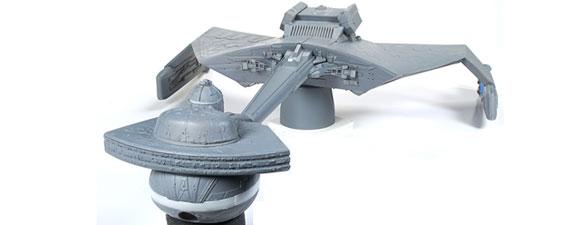 Klingon K't'inga Model Kit Coming Soon