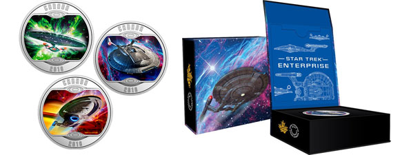 Silver Starship Coins