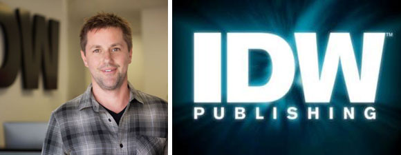 Ryall Leaving IDW Publishing