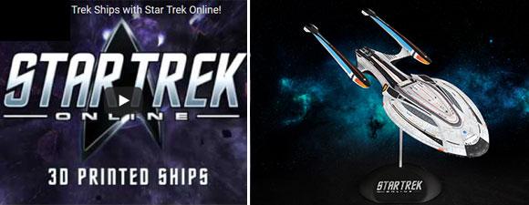 Star Trek: Online Announces 3D Starship Printing