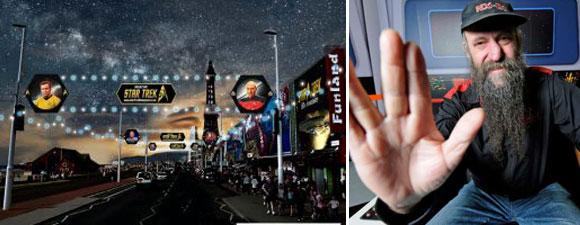 Star Trek Blackpool Exhibition Saved By Trek Fan