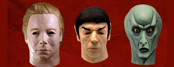Star Trek Halloween Masks