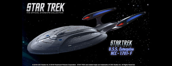 Eaglemoss Bonus Star Trek Ship Models