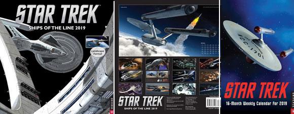 2019 Star Trek Calendars