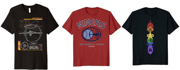 Deep Space Nine 25th Anniversary T-Shirts
