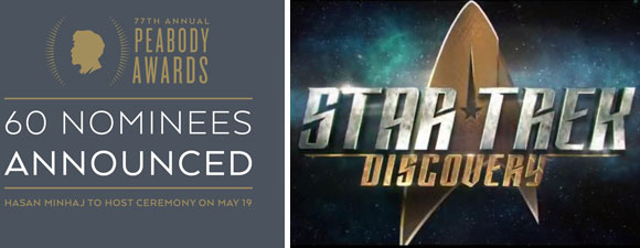 No Peabody For Star Trek: Discovery