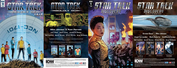 Two Star Trek Comics Release Tomorrow