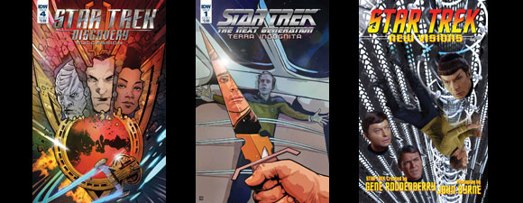 July IDW Publishing Star Trek Comics