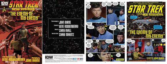 Star Trek: New Visions #21 Comic
