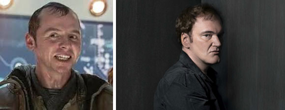 Will Simon Pegg Be In Tarantino Trek Movie?