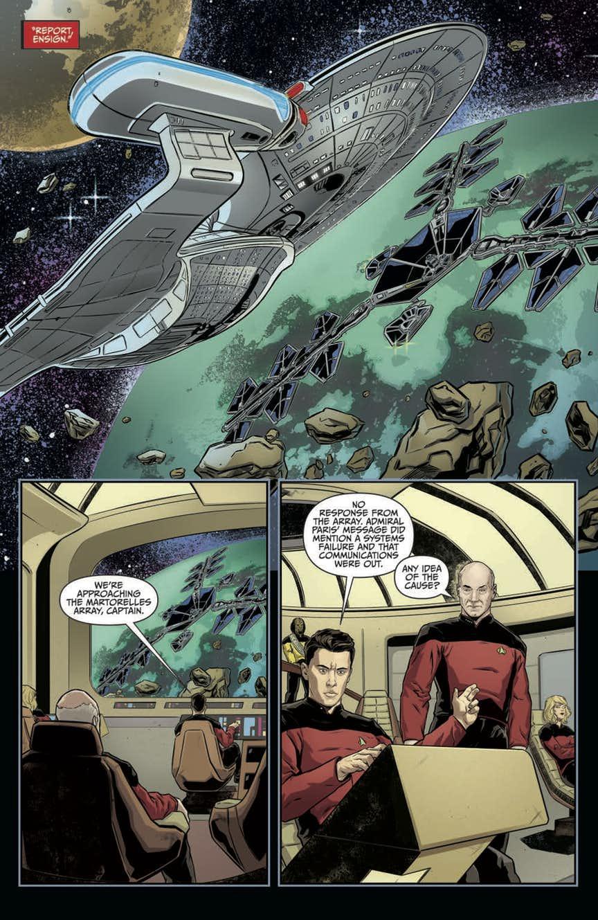 Star Trek The Next Generation Through The Mirror 4
