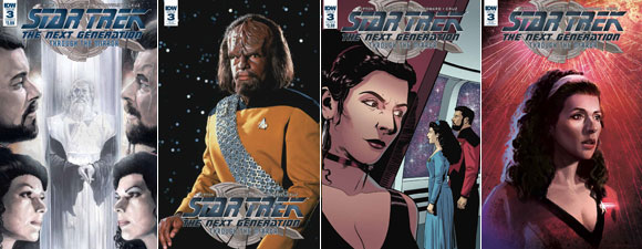 Star Trek: The Next Generation: Through The Mirror #3
