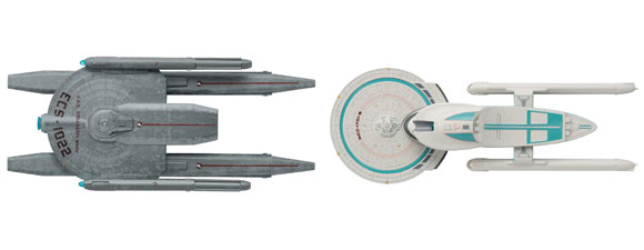 New Star Trek Starships Models