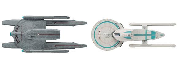 New Star Trek Starships Models