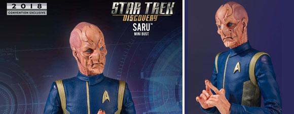 Lt. Saru Mini Bust