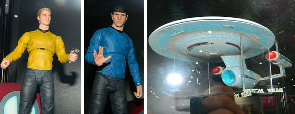 Diamond Select Toys Announces Figures And A Starship