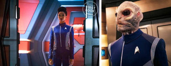Two Star Trek: Discovery Pictures