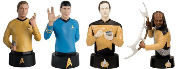 Eaglemoss To Debut Official Star Trek Busts At Comic-Con