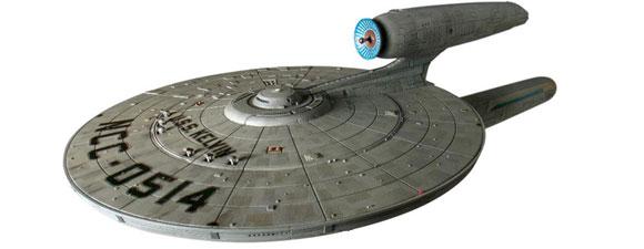 Moebius Models USS Kelvin ship