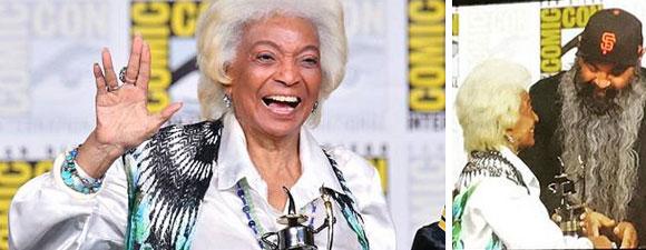 Nichols Wins Award At San Diego Comic-Con