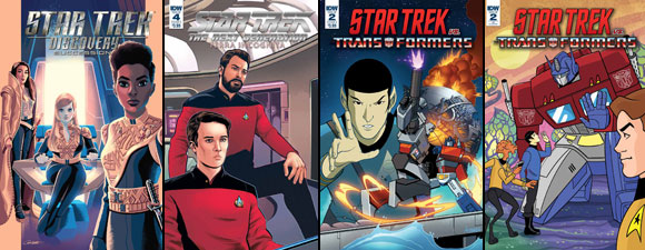 October IDW Publishing Star Trek Comics