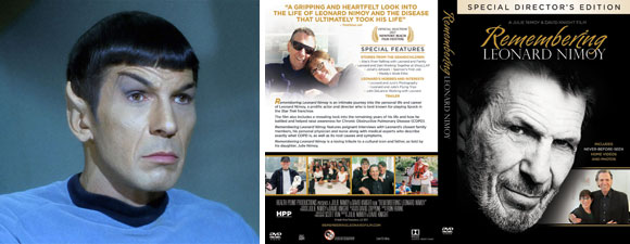 Remembering Leonard Nimoy Special Director's Edition DVD