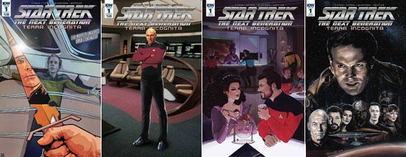 Star Trek: The Next Generation: Terra Incognita #1
