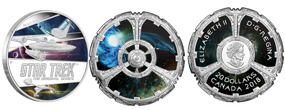 New Trek-Themed Coins