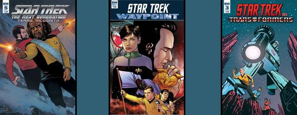 IDW Publishing Trek Comics For November 2018 – UPDATED