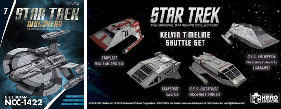 New Official Starship Collection Ships Announced