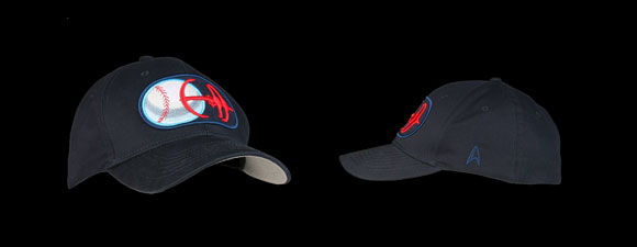 """aa0740d6ce0 The Niners Baseball Cap replicates """"the bold Niners colors on this navy blue  hat"""