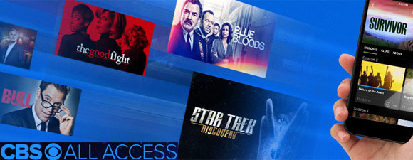 CBS All Access Offers Download And Play