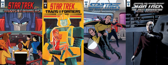 December 2018 IDW Publishing Star Trek Comics