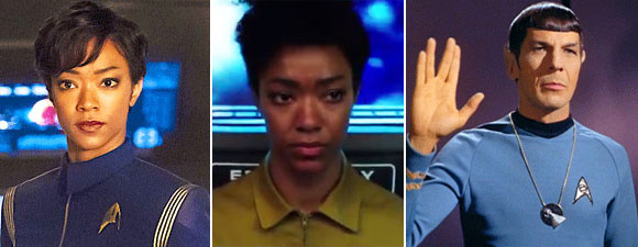 Martin-Green: Burnham, Spock And Trek Canon