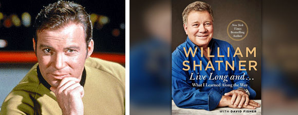 Shatner Book: Live Long And…What I Learned Along The Way