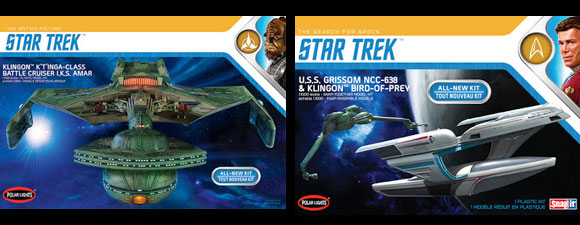 Star Trek Model Ships