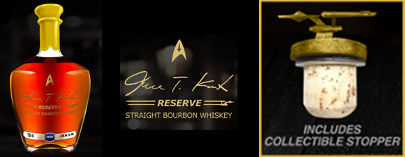 James T. Kirk Reserve Bourbon Launches